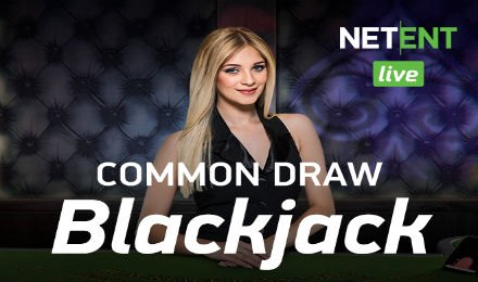 Live Blackjack - Common Draw